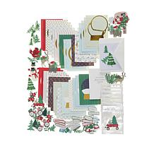 Anna Griffin® Snow Globe Christmas Card Kit