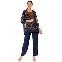 """Antthony """"Jewel of the Nile"""" 3-piece Jacket, Tank and Pant Set"""