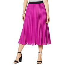 Antthony Solid Pleated Skirt