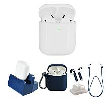 Apple AirPods 2nd Gen. Earbuds & Wireless Charging Case w/Accessories