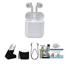 Apple Airpods W/2vouch Ts2 Rsegld