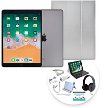 "Apple iPad Air 10.5"" Tablet w/Bluetooth Keyboard & Accessories"