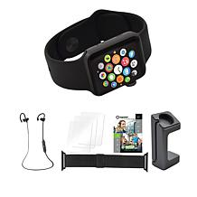 Apple® Series 3 Water-Resistant Sports Watch w/Extra Band & Headphones
