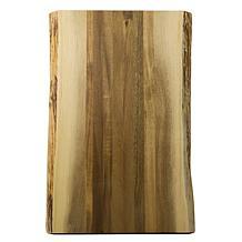 """Architec® Gripperwood™ Raw Edge Cutting Board - Acacia Wood - 11 x 17"""""""