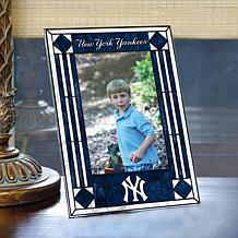 Art Glass Team Photo Frame - New York Yankees - MLB
