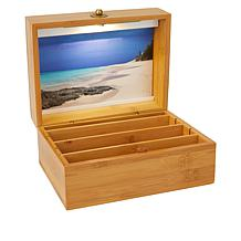 """""""As Is"""" Bedside Organizer Nite Chest with LED Light"""
