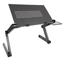 """""""As Is"""" Bell & Howell Adjustable Laptop Desk with Mouse Pad"""
