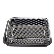 """As Is"" DASH 10L Air Fryer Oven Basket and Pan"