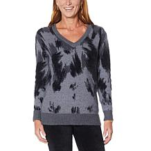 """As Is"" DG2 by Diane Gilman Fuzzy Novelty Sweater"