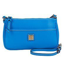 """""""As Is"""" Dooney & Bourke Saffiano Leather Lola Pouchette Crossbody"""