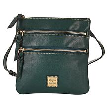 """""""As Is"""" Dooney & Bourke Saffiano Leather North/South Crossbody"""
