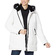 """""""As Is"""" Laurier Hybradown Parka with Removable Hood"""
