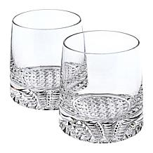 Badash Park Avenue Mouth-Blown Lead-Free Crystal 4-piece Whiskey Set