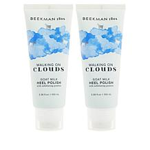 Beekman 1802 2-pack Goat Milk Walking on Clouds Heel Polish