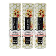 Beekman 1802 Apricot & Honey Tea Goat Milk Tinted Lip Balm Trio