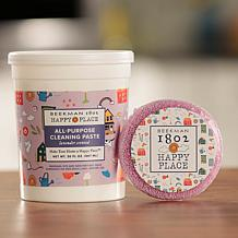 Beekman Happy Place All-Purpose Cleaning Paste with Scented Scrubber