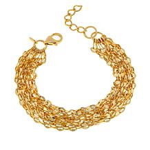 Bellezza Bronze Multi-Row Confetti-Link Bracelet