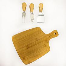 "BergHOFF Bamboo Paddle Cutting Board 11"" x 7.9"" x 1.5"""