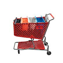 BergHOFF Shopping Cart Bags 4-piece - Original Metro