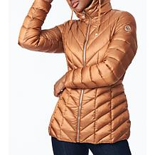 Bernardo EcoPlume Hooded Packable Jacket