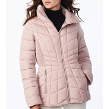 Bernardo EcoPlume Packable Jacket in Soft Micro Touch