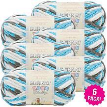 Bernat Baby Blanket Yarn 6-pack - Sail Away