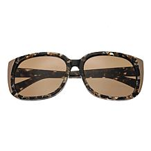 Bertha Natalia Polarized Sunglasses with Multi Frame and Brown Lenses