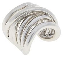 Bianca Milano Sterling Silver Multi-Row Ear Cuff Earring