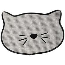 Bone Dry Grey Cat Whiskers Placemat