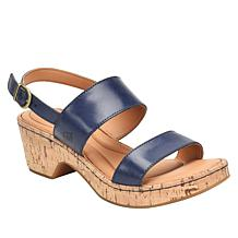 Born® Aztel Leather Slingback Sandal