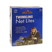 Brite Star 150-Bulb Clear Twinkling Net Lights