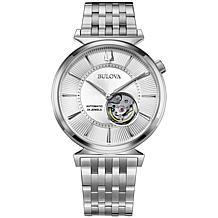 Bulova Men's Automatic Slim Stainless Steel Watch