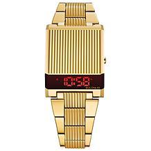 Bulova Men's Gold-Tone Computron Digital Watch