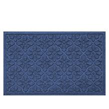 Bungalow Aqua Shield Medallion Doormat