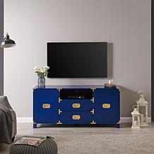 Campaign TV/Media Stand - Navy