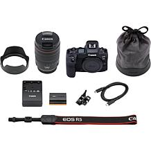 Canon EOS R5 45MP Mirrorless Digital Camera with 24-105mm f/4L Lens