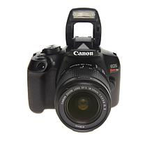 Canon T6 Dslr Camera W/2lenses Black