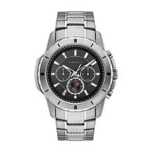 Caravelle Men's Silvertone Sport Watch