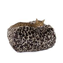 Carolina Pet Medium Faux Fur Puff Ball Pet Bed