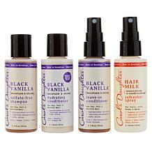 Carol's Daughter Black Vanilla 4-piece Travel Size Collection