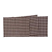 CF&F Home Windowpane Cocoa Table Runner