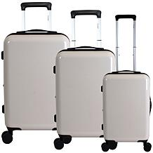 Chariot Blank 3-piece Hardside Luggage Set