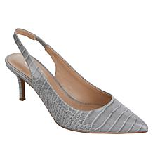 Charles by Charles David Amy Embossed Slingback Pump