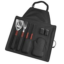 Chef Buddy 7 Piece Bbq Apron And Utensil Set