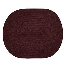 """Chenille Reversible Braided Rug - 22"""" x 40"""""""