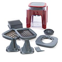 Chopped™ Champion 5-Blade Tower Slicer & Quick Chopper