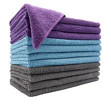 CleanBoss by Joy Anti-Odor, Anti- Microbial 12-pack Cleaning Cloths