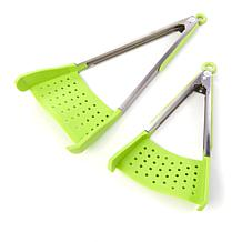 Clever Tongs™ 2-in-1 Spatula and Tongs 2-pack