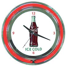 "Coca-Cola ""Ice Cold"" Retro Neon Clock"