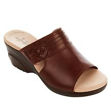 Collection by Clarks Lynette Trudie Leather Wedge Sandal